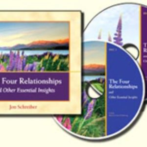 The Four Relationships and Other Essential Insights by Jon Schreiber (Audio CD)